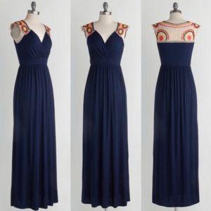Bohemian Gilli V.I.Peace Maxi Dush Navy XL Dress